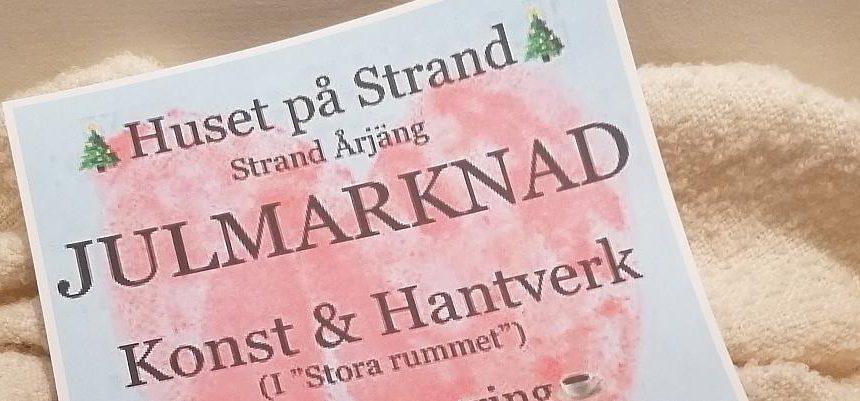 Weihnachtsmarkt im Huset på Strand in Årjäng