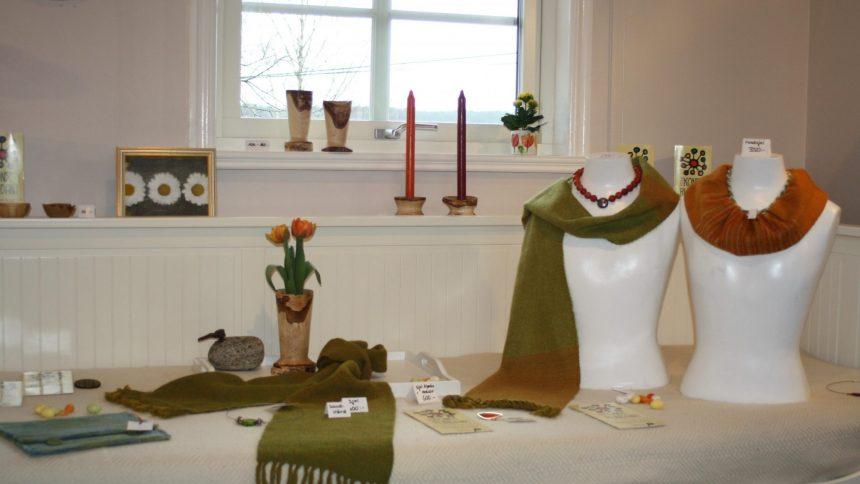 Gittas verkstad på marknader och utställningar