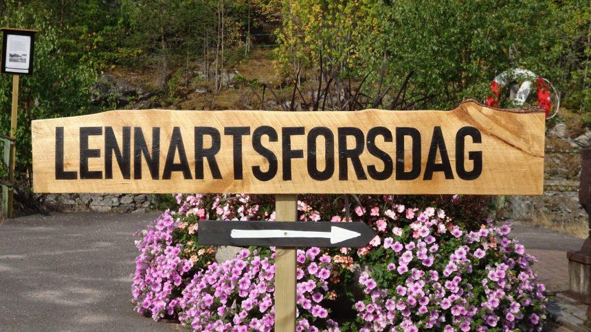 Gittas verkstad på Lennartsforsdagen 2018