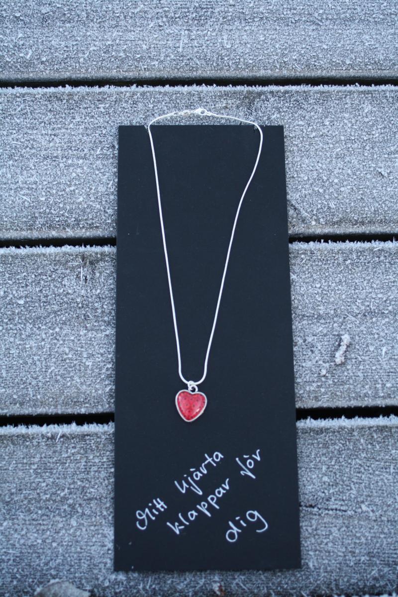 smycke hjärta-Gittas Verkstad