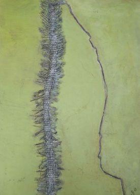 Tusenfoting-temperateknik-och-textile-collage-Gittas-verkstad